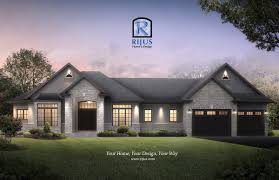 bungalow home designs rijus home design ltd ontario house plans custom designs bungalow