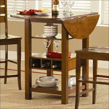 bar table with storage base kitchen 9 piece counter height dining set with lazy susan bar