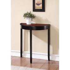 narrow hall console table white with storage hallway painted