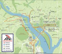 Arlington National Cemetery Map Marine Corps Marathon Organizers Announce Race Day Changes Wtop