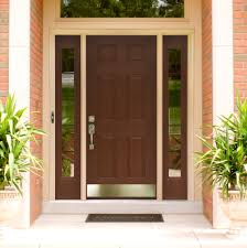 modern front door designs nobby front door designs for homes exquisite brown mahogany 6 panels