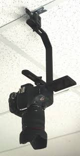 suspended drop ceiling face down camera mount alzo digital