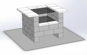 backyard grill company diy cinder block bbq grill dors and windows decoration