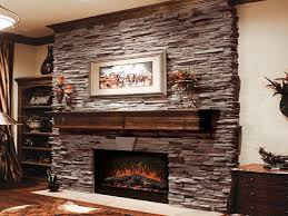 cheap modern ceiling lights dry stack stone veneer fireplace grey