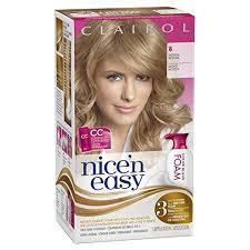 best boxed blonde hair color amazon com clairol nice n easy foam hair color 8 medium blonde