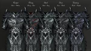 daedric reaper armor at skyrim nexus mods and community