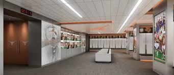 texas unveils impressive rendering of new locker room san