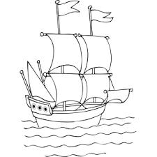tall ship coloring vintage sailor kiddo party