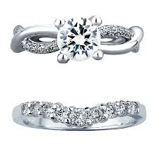 engagement and wedding rings how to a wedding band that works with your engagement ring