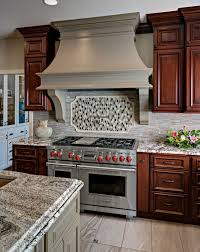 cherry cabinets in kitchen with what color paint traditional cherry cabinets with medium brown painted island