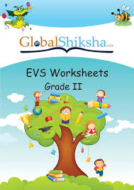 buy worksheets for class 2 environmental science evs book