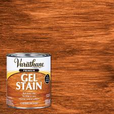 how much gel stain do i need for kitchen cabinets varathane 1 qt cherrywood wood interior gel stain
