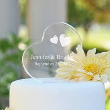 geometric copper love design wedding cake topper