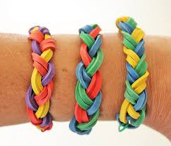 rubber bracelet made images Diy jewelry made from office supplies babble dabble do jpg