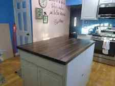 butcher block top kitchen island butcher block kitchen dining bar ebay