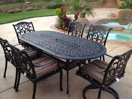 Antique Rod Iron Patio Furniture by Home Design Fabulous Oval Wrought Iron Patio Table Dining Tables