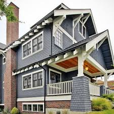 because it is pretty houzz bricks and navy blue houses