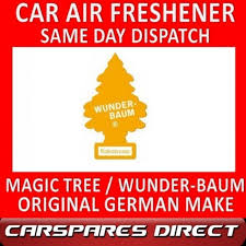 tree car air freshener coconut original best wunder baum new