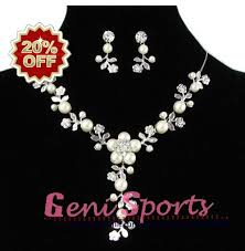 new necklace styles images Bridal pearl flower jewelry necklace jewellery necklace for free jpg