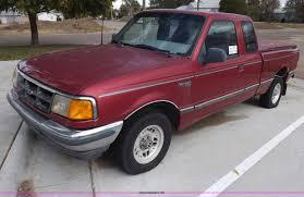 Ford Ranger Pickup Truck - 1993 ford ranger xlt supercab pickup truck item i8489 so