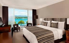 chambre deluxe chambre de luxe hôtel président wilson ève