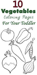 top 10 free printable vegetables coloring pages online for