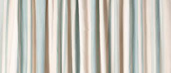 Blue Curtains Awning Stripe Duck Egg Ready Made Curtains At Laura Ashley