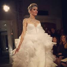 wedding dress necklace fall 2014 wedding dress trend built in necklaces brides