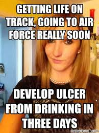 Airforce Memes - life on track going to air force really soon