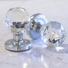 Glass Doorknob Unique Home Accessories Homeware And Decor Mortice Internal