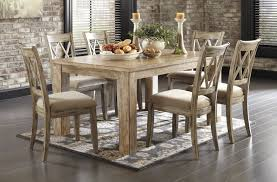 ashley dining room sets buy ashley furniture mestler bisque rectangular dining room table
