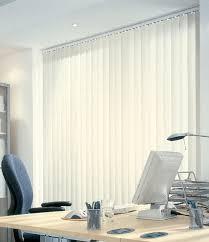 stores de bureau personnalisé 89 mm pvc stores verticaux bureau avec rideau de la