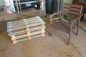 How To Make Patio Furniture Out Of Pallets by How To Construct An Outdoor Wooden Pallet Couch Pallet Idea