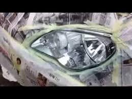 aikka headlamp nano color coating video youtube