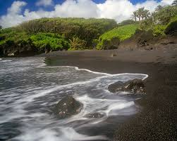 Black Sand Beaches Maui by Hawaii Steve Alterman Photography
