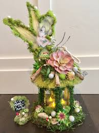 Totoro Home Decor by Tinkerbell Centerpiece Candle Enchanted Forest Tinkerbell