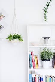 smashing mini hanging macrame plant hanger planter her also garden