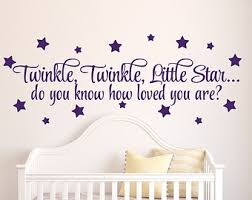 Twinkle Little Star Nursery Decor How Loved You Are Etsy
