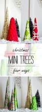 christmas craft idea paper trees