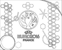coloring pages uefa euro 2016 drawing