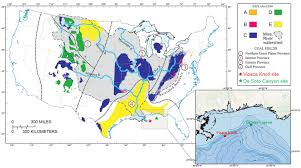 Map Of Mississippi River Deep Sea Corals Record Human Impact On Watershed Quality In The