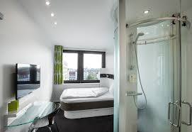 Interior Hotel Room - hotel room in copenhagen air conditioning flat screen tv and free w