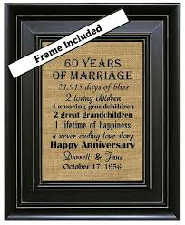 60th anniversary gifts framed 60th wedding anniversary 60th anniversary gifts 60th wedding