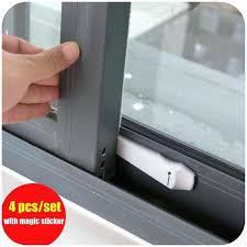 Security Locks For Windows Ideas Sliding Glass Door Locks Home Decorating Ideas Van Sliding Door