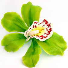 flower hair clip cymbidium orchid flower hair clip artificial flowers oriflowers