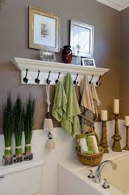Spa Look Bathrooms - small bathroom chic trendy storage solutions maximize space