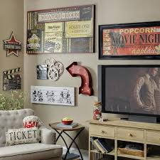 home theater room decorating ideas movie decor ideas hollywood theater on awesome basement home