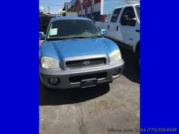 2003 hyundai santa fe recalls used hyundai santa fe for sale in reno nv edmunds