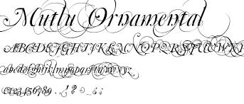mutlu ornamental font script calligraphy category pickafont