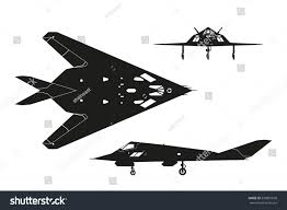 military aircraft contour drawing war plane stock vector 530891650